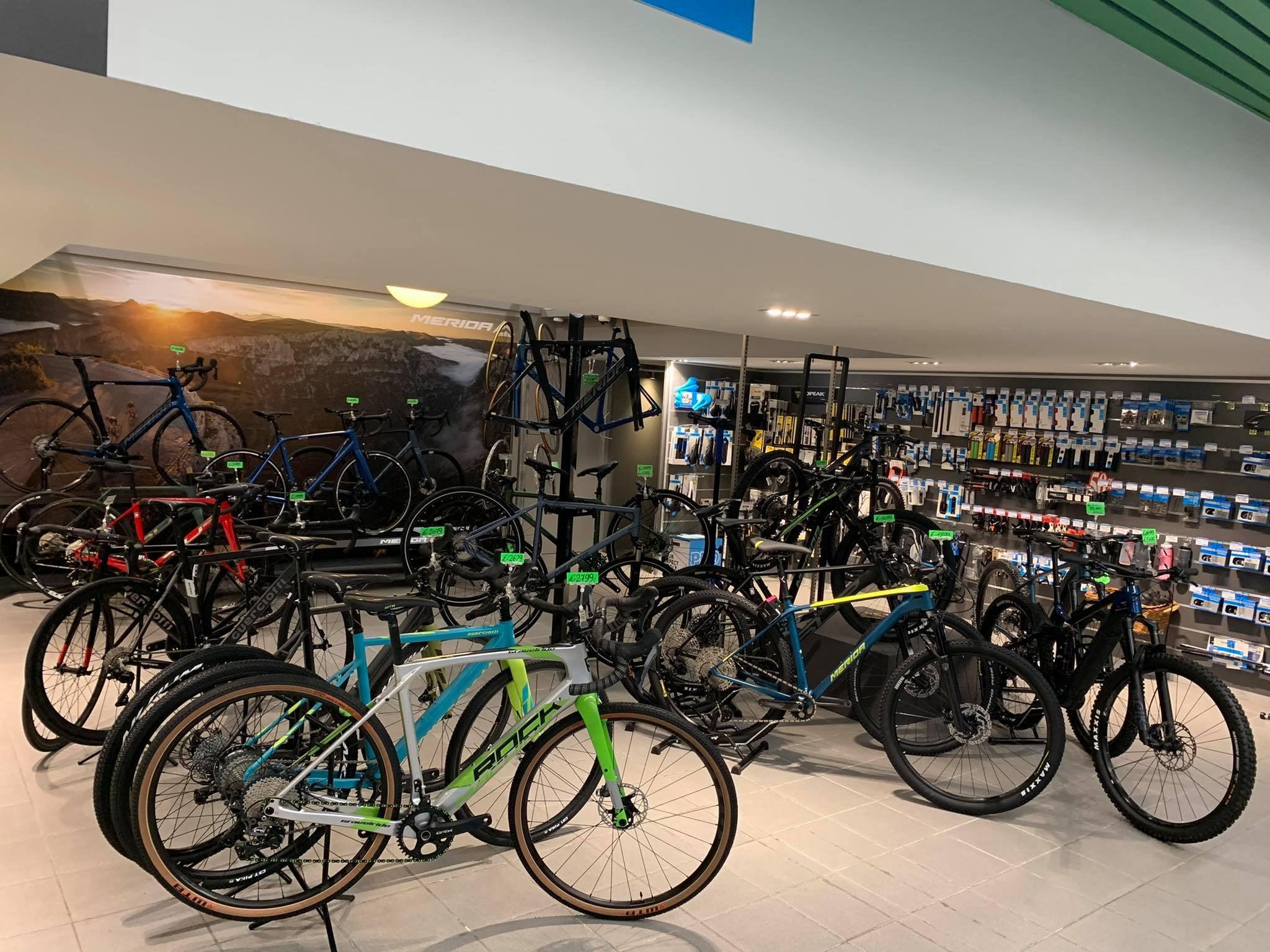 Marco's Vélo Shop Etalage